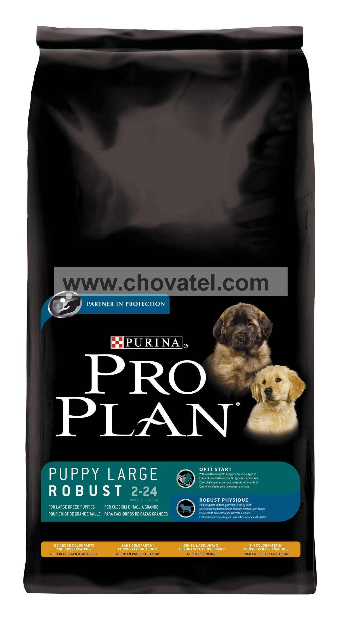 Purina Pro Plan Puppy Large Robust Chicken+Rice 14kg