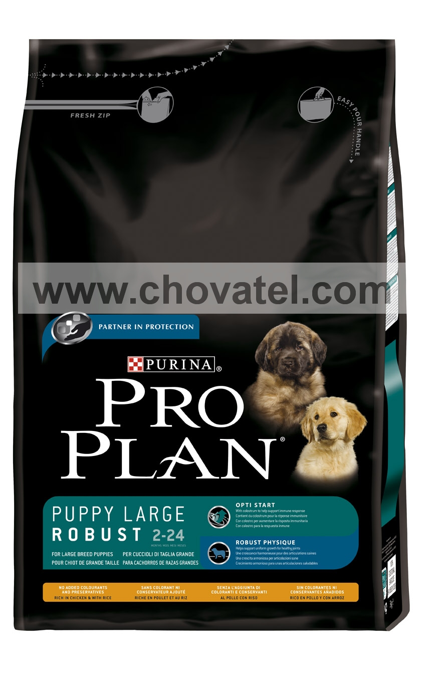 Purina Pro Plan Puppy Large Robust Chicken+Rice 3kg