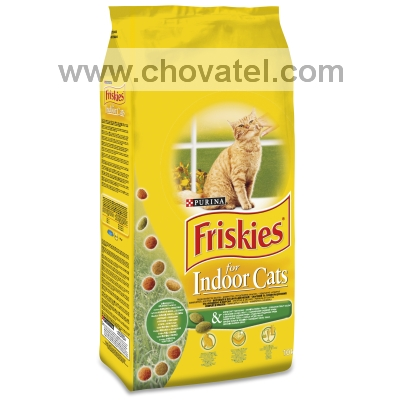 Friskies Cat Dry Indoor 10kg