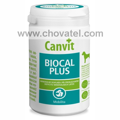 Canvit Biocal Plus pro psy 1000g new