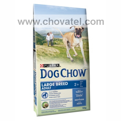Purina Dog Chow Adult Large Turkey & Rice 14kg