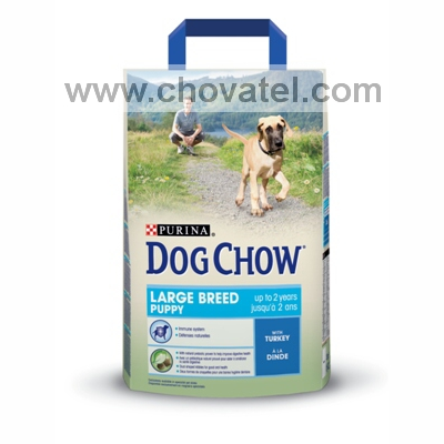 Purina Dog Chow Puppy Large Breed Turkey 2,5kg