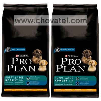 Purina Pro Plan Puppy Large Robust Chicken+Rice 2 x 14kg